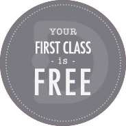 your first class is free